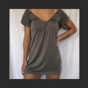 Wilfred Aritzia Dress Brown-Grey Size S